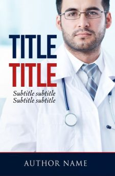 Medical book cover design by MaryDes available at bookcoverdesigns.eu.