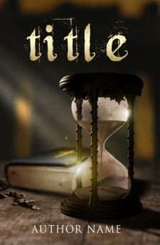 Hourglass. Book cover design created by MaryDes and available at bookcoverdesigns.eu.