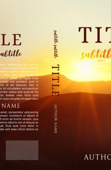 Reflection and spirituality. Book cover design created by MaryDes and available at bookcoverdesigns.eu.
