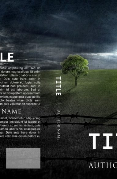 Barbed wire. Book cover design created by MaryDes and available at bookcoverdesigns.eu.