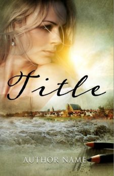 The river. Book cover design created by MaryDes and available at bookcoverdesigns.eu.