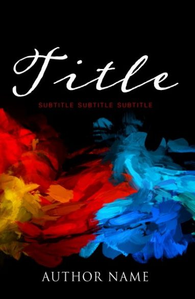 Art and colors. Book cover design created by MaryDes and available at bookcoverdesigns.eu.