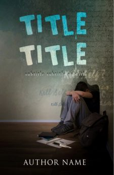 Suicidal thoughts. Book cover design created by MaryDes and available at bookcoverdesigns.eu.