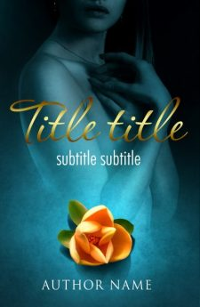 Exotic flower. Book cover design created by MaryDes and available at bookcoverdesigns.eu.