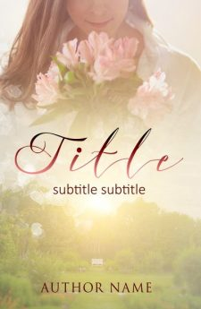 Romance in the garden. Book cover design created by MaryDes and available at bookcoverdesigns.eu.