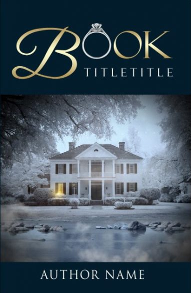 A home, a ring and a winter tale. Book cover design created by MaryDes and available at bookcoverdesigns.eu.