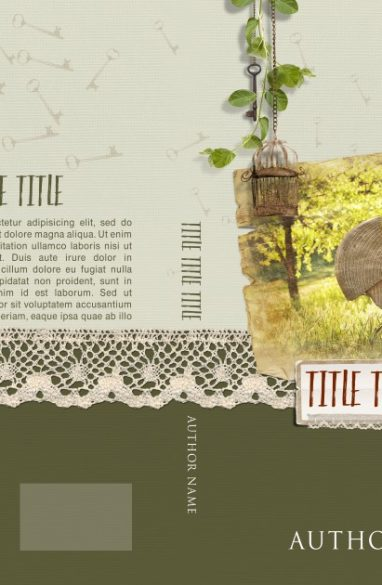 Romance-023 - Key to happiness – A new born. Book cover design created by MaryDes and available at bookcoverdesigns.eu.