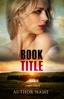 Woman at the mansion. Book cover design created by MaryDes and available at bookcoverdesigns.eu.