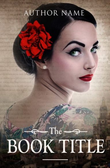 She is talk of the town. Book cover design created by MaryDes and available at bookcoverdesigns.eu.