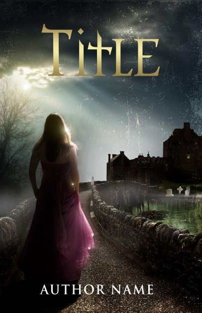 Castles and magic. Book cover design created by MaryDes and available at bookcoverdesigns.eu.