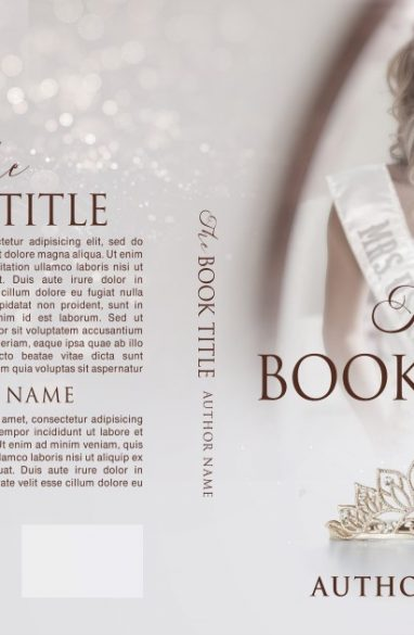 The life of an elected miss. Book cover design created by MaryDes and available at bookcoverdesigns.eu.