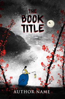 A Japanese story. Book cover design created by MaryDes and available at bookcoverdesigns.eu.