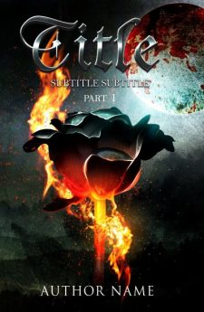 The iron rose. Book cover design created by MaryDes and available at bookcoverdesigns.eu.