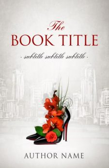 The power of high heels. Book cover design created by MaryDes and available at bookcoverdesigns.eu.