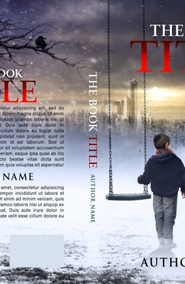 Child missing. Book cover design created by MaryDes and available at bookcoverdesigns.eu.