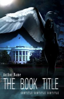 What happens in the white house? Book cover design created by MaryDes and available at bookcoverdesigns.eu.